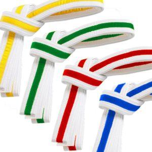 Stripe Martial Arts Belts