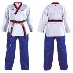 Adults World Taekwondo EasyFit Male Poom