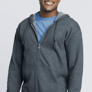 Unisex Adults Zipped Hoodie