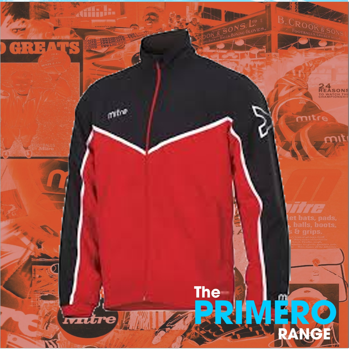 red track suit top