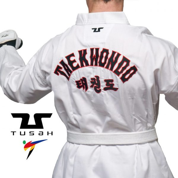 Adults World Taekwondo Embroidered Back