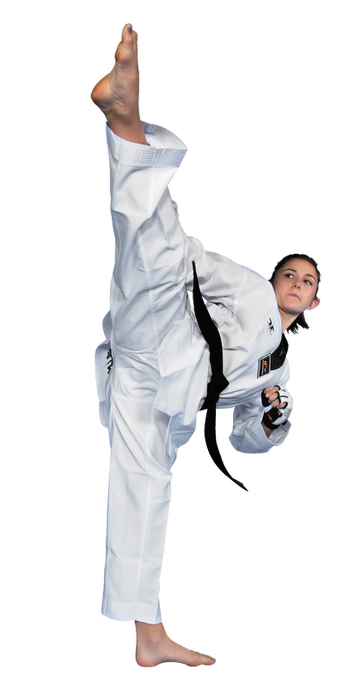 Childrens World Taekwondo Black Collar Professional Fighter Uniform - Ki  Martial Arts Ltd