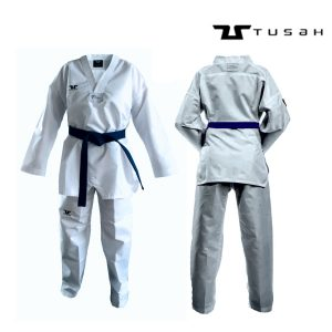 Adults WTF APPROVED White Collar Fighter Uniform