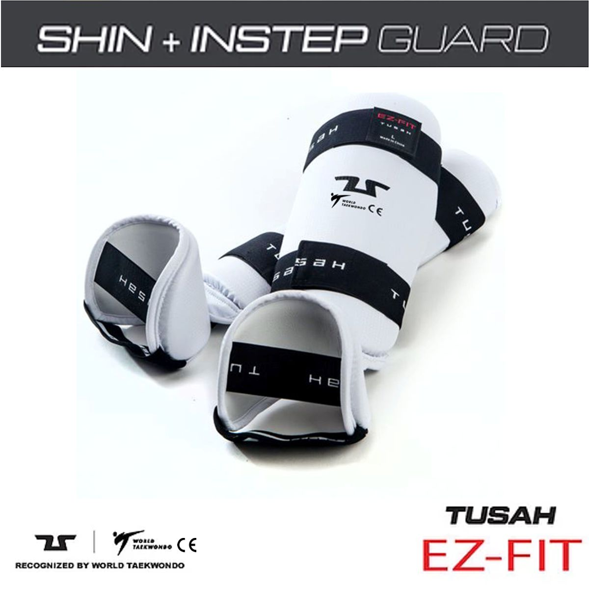 WT Taekwondo Shin and Instep Short Version