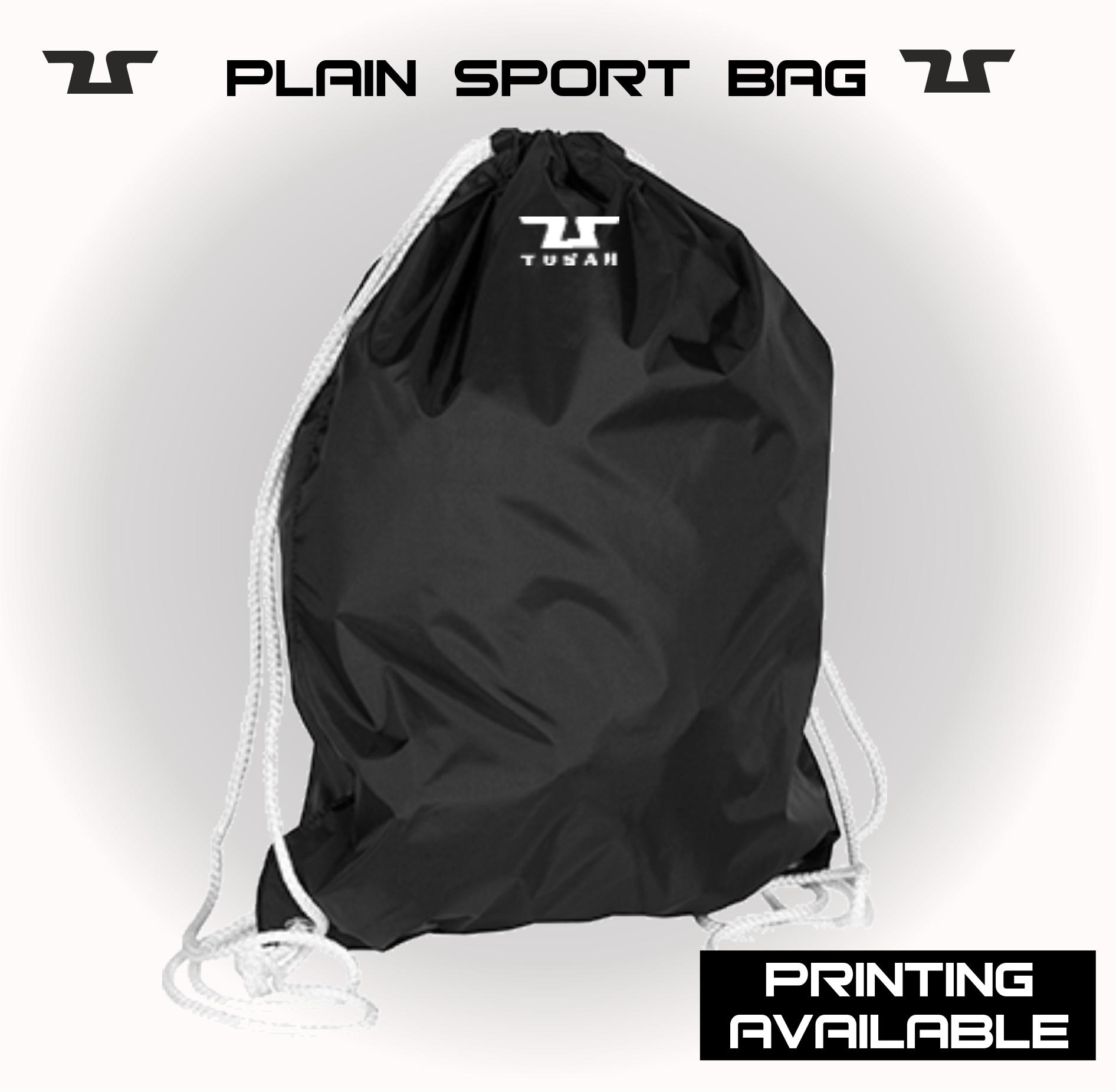 Tusah Plain Sport Bag