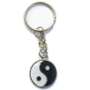 Yin Yang Keyring