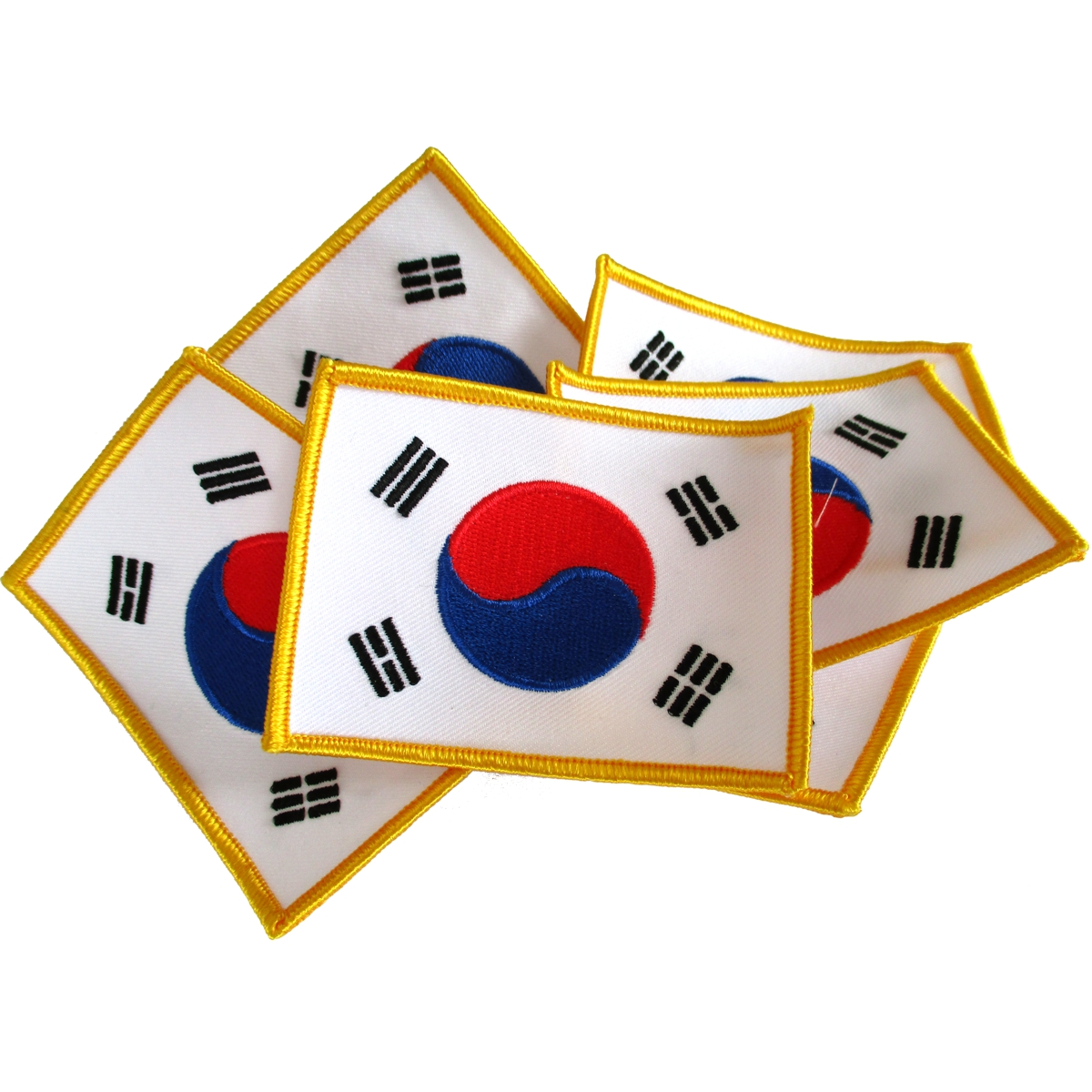 Korea Flag Patches