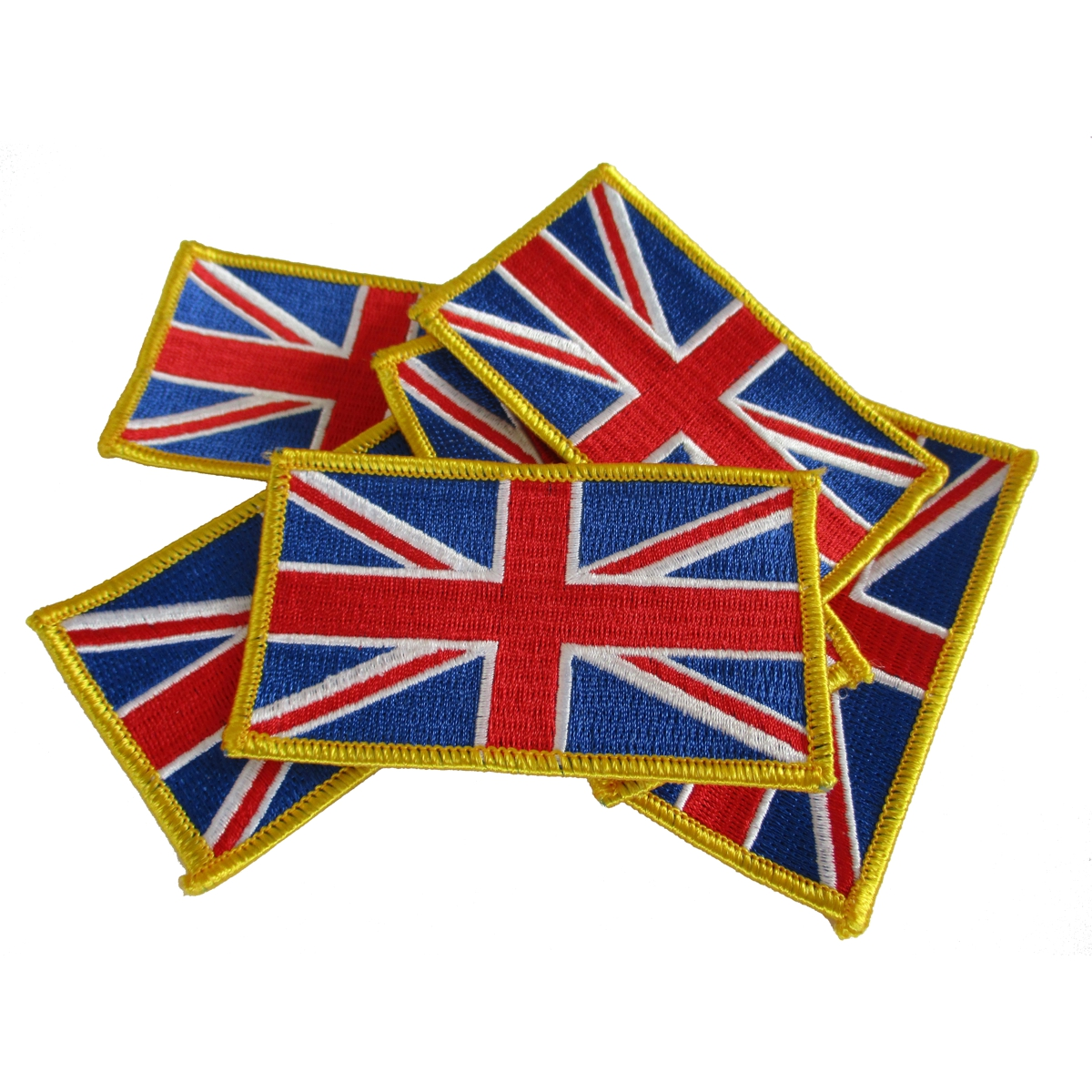 UK Flag Patches