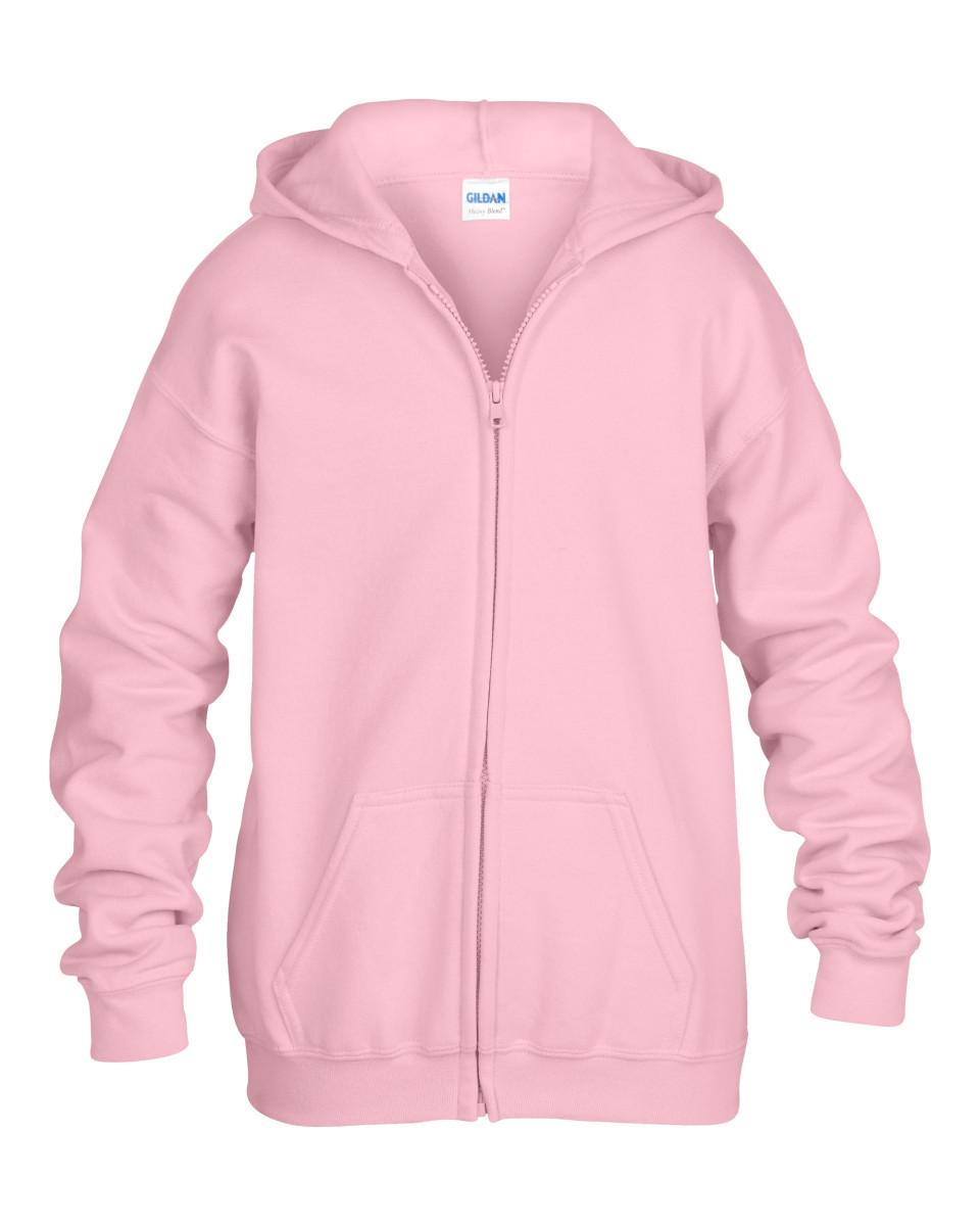 light pink zipped