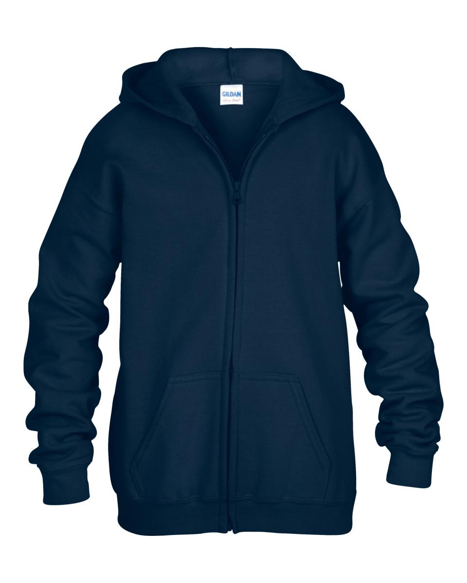 navy zipped