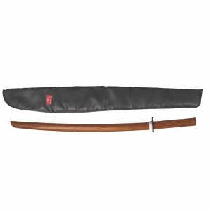 Wooden Bokken With Case