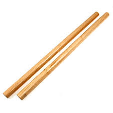 Natural Escrima Stick Duo