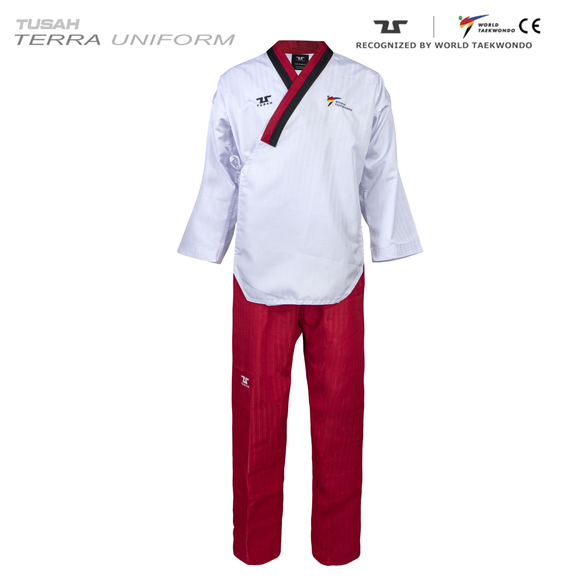 Terra Female Poom Uniform Tuash Taekwondo Poomsae Range