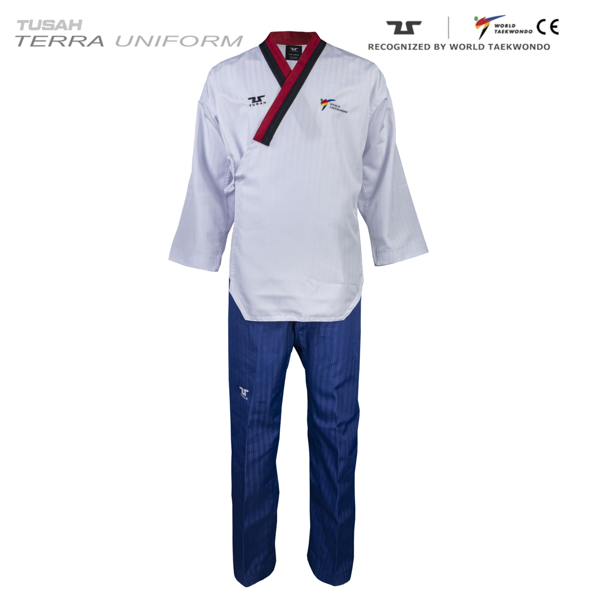 Terra Male Poom Uniform Tuash Taekwondo Poomsae Range